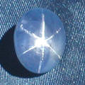 Click to see larger view of this Blue Star Sapphire