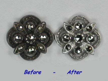 Image result for silver tarnish jewelry